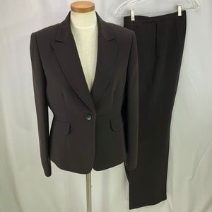 Tahari Women's Brown Pant Suit 12